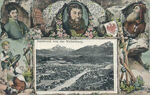 INNSBRUCK – Innsbruck von der Wetherburg 1809-1909 - Austria