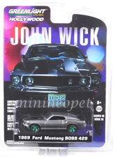 GREENLIGHT 44780 E JOHN WICK MOVIE (2014) 1969 FORD MUSTANG BOSS 429 1/64 Chase