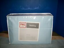 New Pike Street Blue 1000 Thread Count Egyptian Cotton King Sheet Set Msrp $129