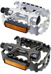 Sunlite Sports Alloy Pedal 9/16 Silver or Black
