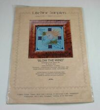 Life Time Samplers Blow the Wind Complete Cross Stitch Kit