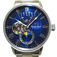 Auth ORIENT STAR Mechanical Moon Phase RK-AY0103L C081365 Mens Wrist Watch