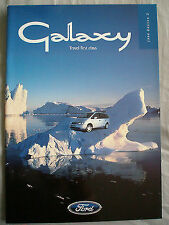 Ford Galaxy range brochure 1998 Ed 2