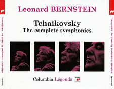 Tchaikovsky: the Complete Symphonies - Bernstein/4 CD Set - Top-Condition