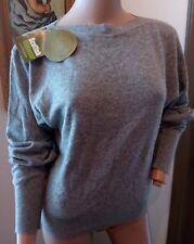 Vtg NWT Deadstock Trimingham's Bermuda Scotland Gray 100% Cashmere Sweater 3