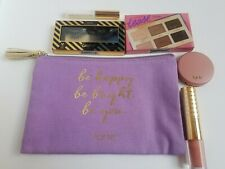 Tarte Tease Palette, Lip Sculptor - Cartwheel, Lashes, Blush - Paaaarty, Bag