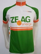 MAGLIA SHIRT CICLISMO TEAM 4 ONE ZE AG ENERGIE TG.L CYCLING CYCLES JERSEY ES844
