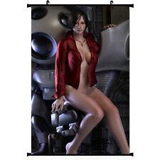 Anime Ada Wong Resident Evil 6 Home Decor Poster Wall Scroll 40*60cm