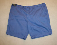 NEW Polo Ralph Lauren Big and Tall Pony Logo Blue Cotton Shorts