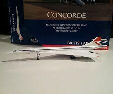 Gemini Jets GJBAW1289 British Airways Brooklands Concorde 1/400 scale G-BBDG