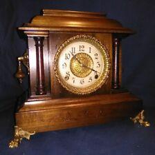 "Antique E. Ingraham 8-day half-hour strike ""Cathedral Gong"" Mantel Clock"