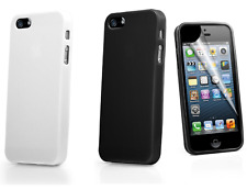 Ultra Thin Hard Gloss Case Cover for iPhone 5 5S & Includes Screen Protector