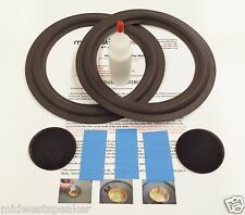 "Advent 6.5"" Woofer Refoam Kit for Baby, II, III Speaker w/ Shims & Dust Cap"