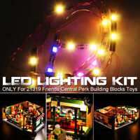 DIY LED Light Lighting Kit ONLY For LEGO 21319 Friends Central Perk Bricks Toy