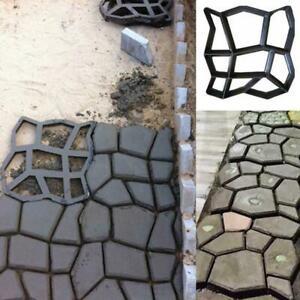 Path Maker Driveway Walk Pavement Paving Mold Patio Concrete Stone Stepping new