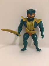 Vintage MOTU He-Man Masters Of The Universe MERMAN w/ Chest Armor & Sword 1981