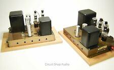 Pair Vintage Heathkit A-9C Modified to Monoblock Tube Amplifiers / 6BG6 - KT1