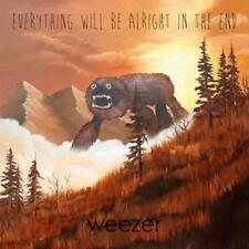 Everything Will Be Alright in the End by Weezer. Vinyl LP. SIGNED BY THE BAND.