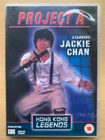 Jackie Chan PROJECT A Martial Arts Classic Hong Kong Legends DeAgostini UK DVD