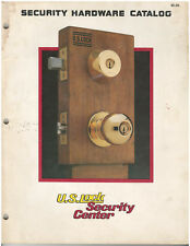 Rare Vintage 1986 US Lock Security Hardware Locksmith Supply Catalog