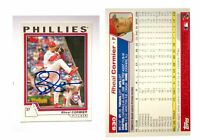 Rheal Cormier Signed 2004 Topps #630 Card Philadelphia Phillies Auto Autograph