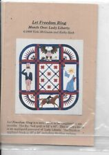 Let Freedom Ring Quakertown Quilt Pattern Kit BOM, 2-6 WITH ORIGINAL FABRIC.