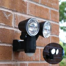 Battery LED PIR Motion Sensor Security Wall Light   Outdoor Garden Adjustable