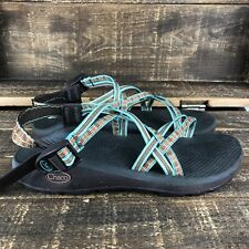 Women's Chacos ZX 2 Green Sport Sandals Size 9