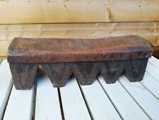 Tabouret Africain /monoxyle/art ethnique/art tribal/art primitif/African stool