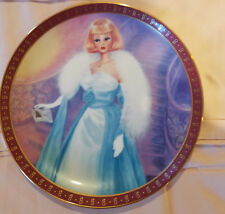 The 1966 Barbie Debutante Ball Limited Edition Plate The Danbury Mint 1990