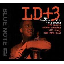 LOU DONALDSON - LD+3 AUDIO WAVE XRCD24 BY LOU DONALDSON/THE 3 SOUNDS (BRAND NEW)