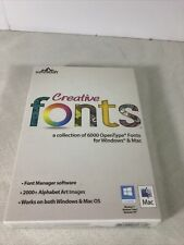 Creative Fonts from summitsoft-Over 6000 OpenType Fonts for Windows Or Mac