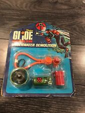 Hasbro Gi Joe Adventure Team Underwater Demolition 1972 In Package Rare!