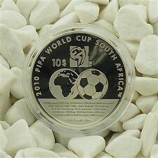 Cook Island Fifa WM Südafrika 2010 Silber Ag Proof PP