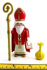 PLAYMOBIL~Feast of St. Nicholas~12-6~Bishop~Christmas~Santa~Gold~Girls' Dowery~1
