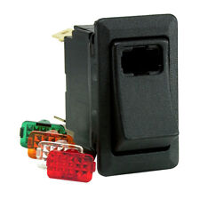 Cole Hersee 58328-100-BP Lighted Rocker Switch Spst On-off 3 Blade (58328100bp)