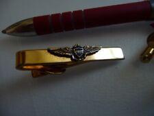 Bel ensemble Wings US ; 2 boutons de manchettes et pince-cravate