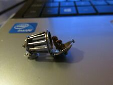 RARE NUVO VINTAGE STERLING SILVER BRACELET CHARM MONKEY IN CAGE OPENS