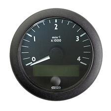 """VDO Ocean Link J1939 4,000 RPM 3-3/8"""" (85mm) - 12/24V Master Tachometer"""