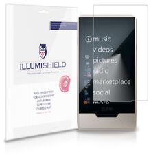 iLLumiShield HD Screen Protector w Anti-Bubble/Print 3x for Microsoft Zune HD