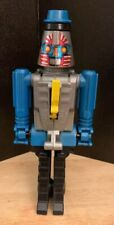 1984 ARCO GoBots RoGun Cap Pistol Cap Gun Toys - Rare Blue Transformer