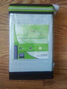 Sheex Eco Sheex 100% Viscose Bamboo Standard Pillowcases (2) Light Blue #172G