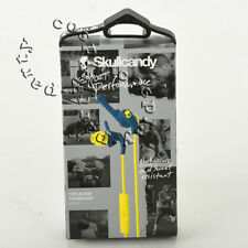 Skullcandy XTplyo Active Sport Clip In-Ear Buds Headphone w/Mic Teal/Acid/Green