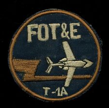 USAF FOT&E T-1A Patch RP-3