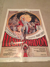 FLESH GORDON ORIGINAL  27 X40 ONE SHEET MOVIE POSTER FOLDED