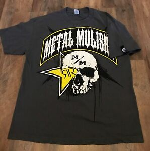 Metal Mulisha T Shirt Mens Shirt Rockstar Energy Drink SZ Large