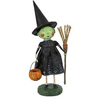 Lori Mitchell Wicked Witch Halloween Trick or Treat Figurine Ships Globally!
