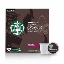 Keurig Starbucks French Roast K Cups Dark 32 Count Brand New FREE SHIPPING!