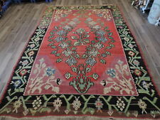 7x10ft. Antique Bessarabian Kilim Room Size Wool Rug