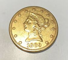 U.S. Liberty Head $10.00 Gold Coin 1889